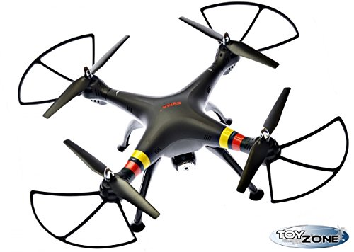 RC Syma X8 W RC Quadcopter Drone color Negro con 2 MB cámara 6 Axis...