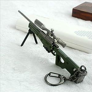 Mddrr Trousseau Dames Sac AWM Sniper Fusil Modèle Garçon Jouet en Métal Cadeau Mobile Pendentif De Voiture