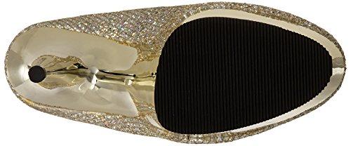 Pleaser Pleaser Delight-685g, Escarpins femme gold