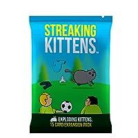 Streaking Kittens: The Second Expansion of Exploding Kittens