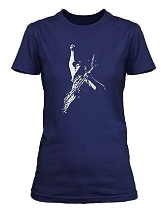 Tom Morello Rage Against The Machine and Audioslave T-shirt, Damen, Small, Blau