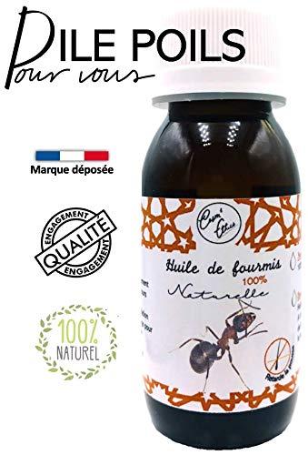 Huile de fourmi  60ml  Cosm'Ethics Pour une disparition définitive de tous vos poils...