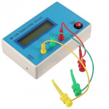 Man Friday Transistor Tester diodo triodo Capacidad ESR óhmetro