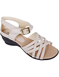 Footshez New Arrival Best Hot Selling Women's Cream Fashion Sandals Low Price Sale