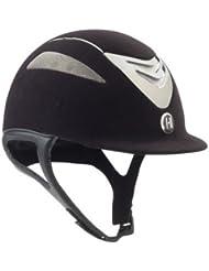 onek Defender ante casco, Black/Smoke Chrome