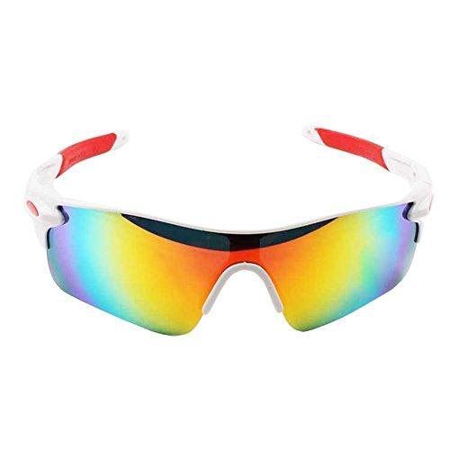 LAAT Gafas de Sol UV Protección Vidrios de la Radiación Gafas de Sol Gafas de Moda Clásico del Estilo para Conducción Pesca Esquiar Golf Aire Libre (1)