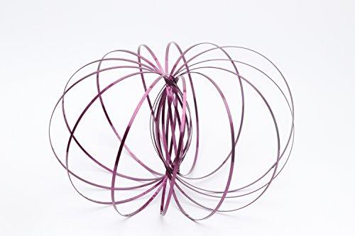 Lieberpaar Herren Kinder Flow Ring Toy Sculpture Ring Educational Toy Toroflux Magic Stainless Steel Rings