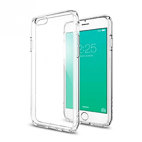 Spigen Ultra Hybrid - Funda para iPhone 6/6S, TPU, transparente