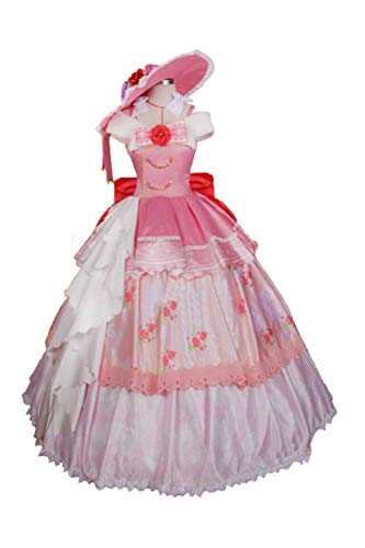 Karnestore LoveLive! Cosplay Ball Nico Yazawa Dress Cosplay Kostüm Damen XL (Yazawa Nico Kostüm)