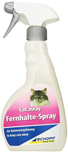 Schopf 310089 Cat Away, Fernhaltespray gegen Katzen, 500 ml