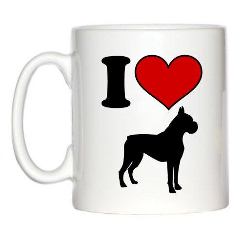 Nicht - ich liebe Boxer Hunde 10oz Tasse (Liebe Boxer Ich)