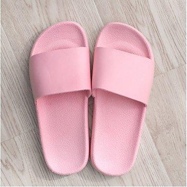 zhENfu Unisex pantofole & amp; flip-flops Primavera Estate comfort informale in PVC tacco piatto Blushing Pink