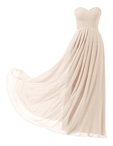 Brautjungfernkleider Pastell (Lilybridal Abendkleider Elegante Chiffon Brautjungfern Festliche Kleider Ball Abschlusskleid 139)