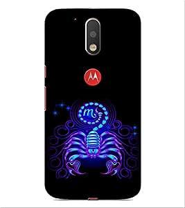 ifasho Designer Phone Back Case Cover Motorola Moto G4 Plus ( Smoke up Design )