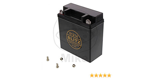 Batterie Motorrad 01214 Gel Schwarz 6v Auto