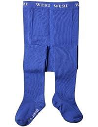 Weri Spezials Bebes et Enfants UNI Collants Bleu