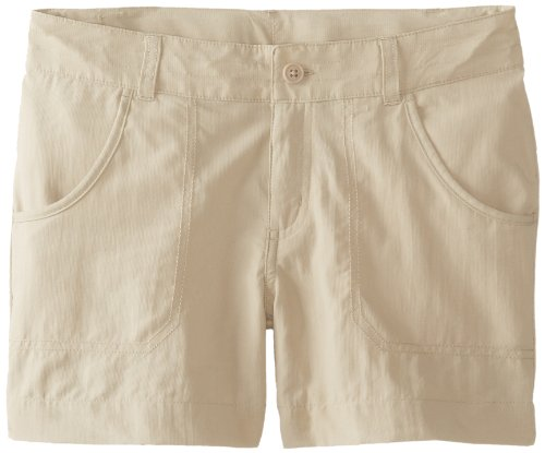 Columbia Girl 's Silber Ridge III Shorts Medium fossil - Silber Mädchen Shorts