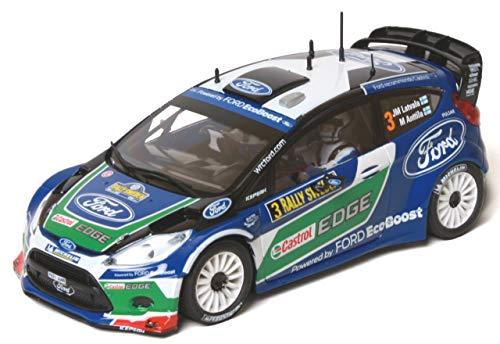 Outletdelocio Scalextric original A10092S300. Coche para pista slot analogica. Ford Fiesta RS WRC Latvala