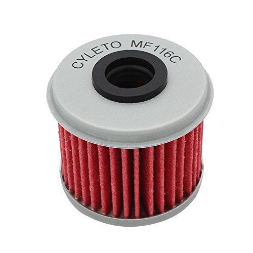 Preisvergleich Produktbild Cyleto Ölfilter für CRF250R CRF 250R 2004-2016 / CRF250X CRF 250X 2004 2005 2006 2007 2008 2009 2012 2013 2014 2015 2016