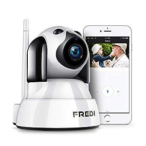 FREDI 1080P Telecamera di Sorveglianza Wifi Wireless Camera Interno Telecamera wi-fi senza fill con Controllo Remoto… 41VDvMy56KL. SS300