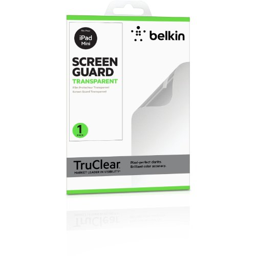 Belkin TrueClear Screen Protector f/iPad Mini, F7N011CW (f/iPad Mini) (Belkin Mini Screen Protector)
