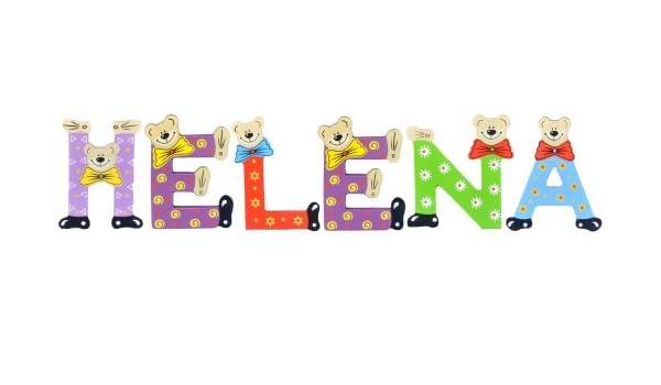 Sortiert Playshoes Kinder Holz-Buchstaben Namen-Set Ben