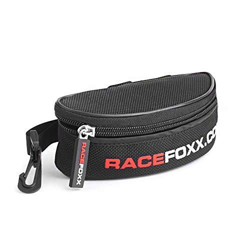 RACEFOXX Sonnenbrillen Tasche, Brillen Etui, Brillentasche, für Brille, Sonnenbrille, Brillen Aufbewahrung