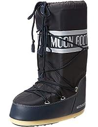 Moon Boot 14004400, Botas de Nieve Unisex Adulto, Azul (Blue Jeans 64), 35-38 EU