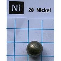 Esfera de metal de níquel 99,9% de 7 g, elemento puro, muestra 28, envío gratis