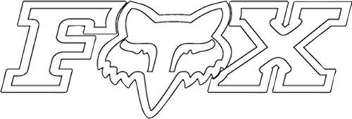 fox-f-head-x-tdc-sticker-van-car-46cm-weiss