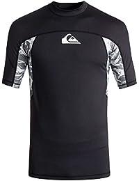 Quiksilver 2018 Slash Short Sleeve Rash Vest Black EQYWR03090 Sizes- -  ExtraLarge edf90bb8290