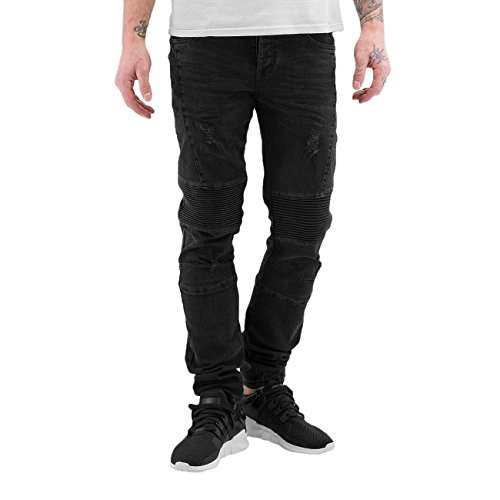 Bangastic Homme Jeans / Slim Quilted III Noir