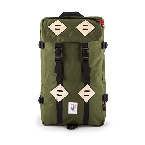 Get Topo Designs Men's Klettersack, Olive, One Size Reviews