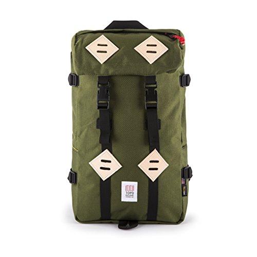 Get Topo Designs Men's Klettersack, Olive, One Size Reviews