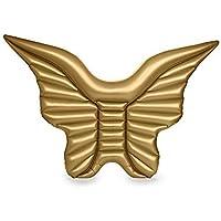 smartlife aufblasbar Engel Flügel Pool Float Enorme Größe Flügel Floating Bett Frauen LIFERAFT Schwimmring aufblasbar Pool Float Wasser Halterung
