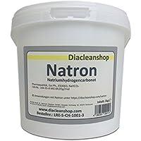 Natron 5 kg in pharmazeutischer Qualität – Natriumhydrogencarbonat (E500ii) - NaHCO3 - Backsoda - Bakingsoda - Basenbad – Hausmittel zum Backen, Reinigen, Baden, Gerüche Neutralisieren & DIY-Kosmetik