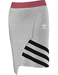 Jupe adidas – Couture gris/rose/noir taille: 34 XS (X-Small)