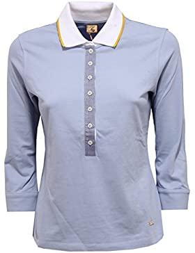 Fay 9220V maglia donna polo light blue polo t-shirt woman