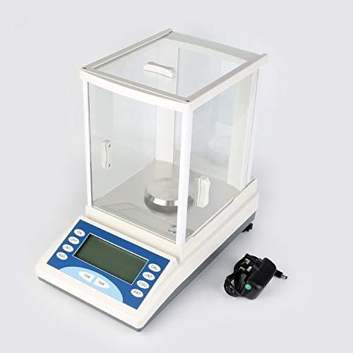 LETAMG Laboranalysewaage Hochpräzise Empfindliche Analysewaage 200 G / 0,1 Mg - Multifunktionale Laborchemikalie Digital Electronic Balance Teaching