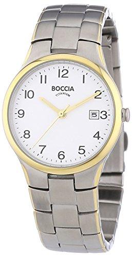 Boccia Damen-Armbanduhr XS Analog Quarz Titan 3297-02