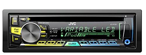 JVC-KD-R761E-USBCD-Receiver-mit-Front-AUX-Eingang-schwarz