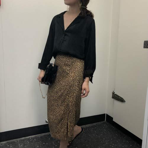 SWOVQ Bleistiftrock Strandrock Damen Bleistiftrock Slit Long Skirt, Einheitsgröße