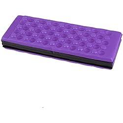 WINOMO Esterilla de Acampada de Espuma Almohadilla Cojin para Rodillas Plegable Impermeable Púrpura