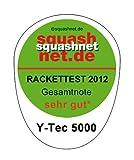 Unsquashable Squash Racket Y-Tec 5000 C4 UVP. 149,99