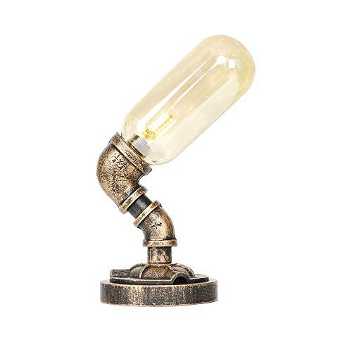 Frotar el aceite de bronce lámpara de escritorio