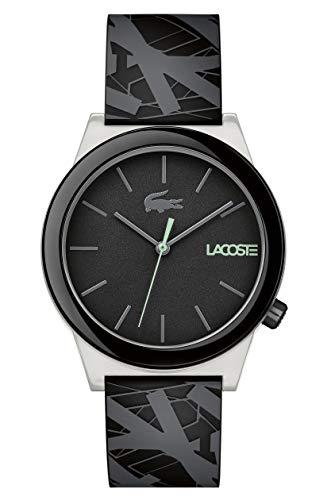Lacoste Reloj Análogo clásico para Hombre de Cuarzo con Correa en Silicona 2010937