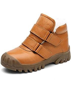 [Patrocinado]Zapatos para niños Botas de Tobillo Moda de niño Botas de Felpa cálidas para niños Botas Martin Botas de Deporte...