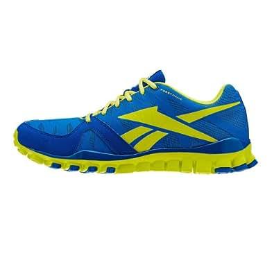 Reebok  REALFLEX TRANSITION 3.0, Chaussures de running homme - - solar green/blue sport/white, 46 EU