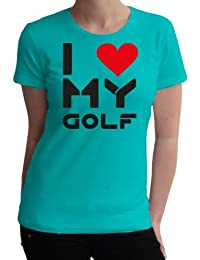 I love my Golf Fun Damen T-Shirt