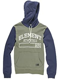 Element Signature sweat capuche Marron Vert xl